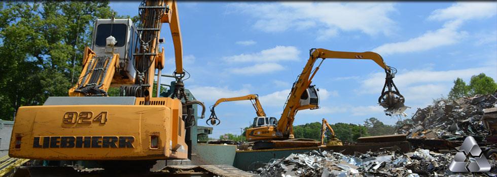 Industrial Scrap Metal Recycling & Steel Sales NC